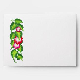 Lush Floral Invitation Envelope