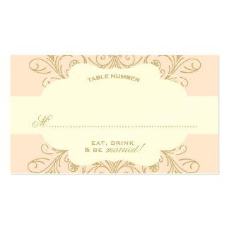 Lush Flourish Place Card blush/gold Business Card