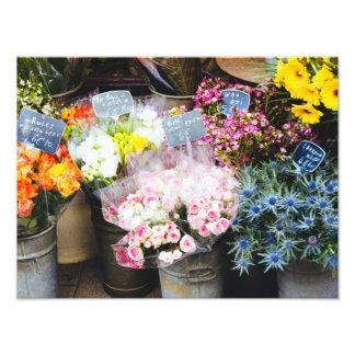 Lush Flowers At The Florist Shop Photograph Photo