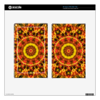 Lush Glow  kaleidoscope Decals For Kindle Fire