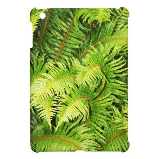 Lush green fern leaves iPad mini covers