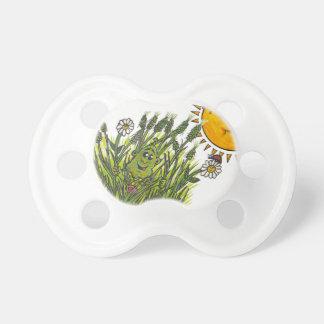Lush green grasses pacifier