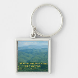 Lush Green Smoky Mtns /Mtns Calling! Keychains