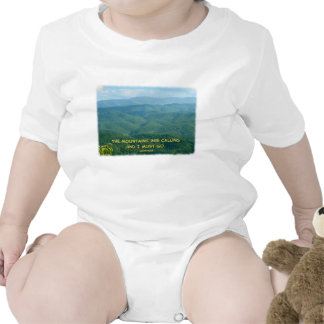 Lush Green Smoky Mtns /Mtns Calling! Tee Shirts