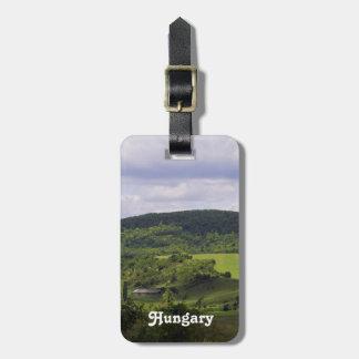 Lush Hungary Landscape Bag Tag
