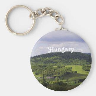 Lush Hungary Landscape Keychain