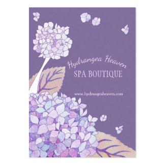 Lush Hydrangeas Spa Appointment Card