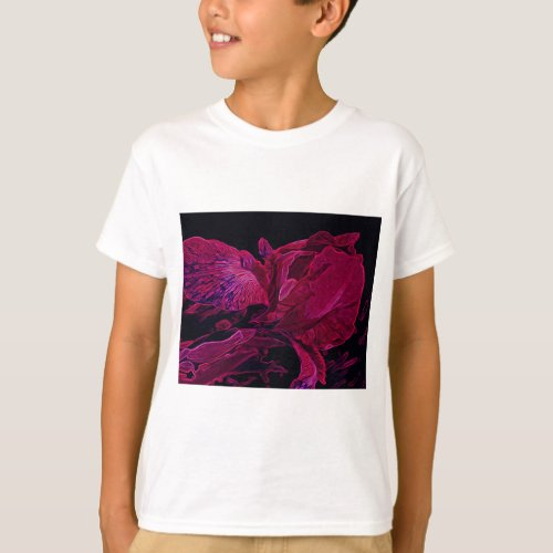 Lush Iris Deep Red Glow T-Shirt