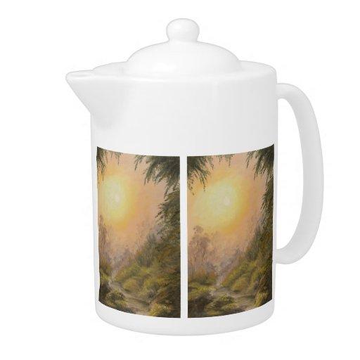 Lush Landscape Teapot