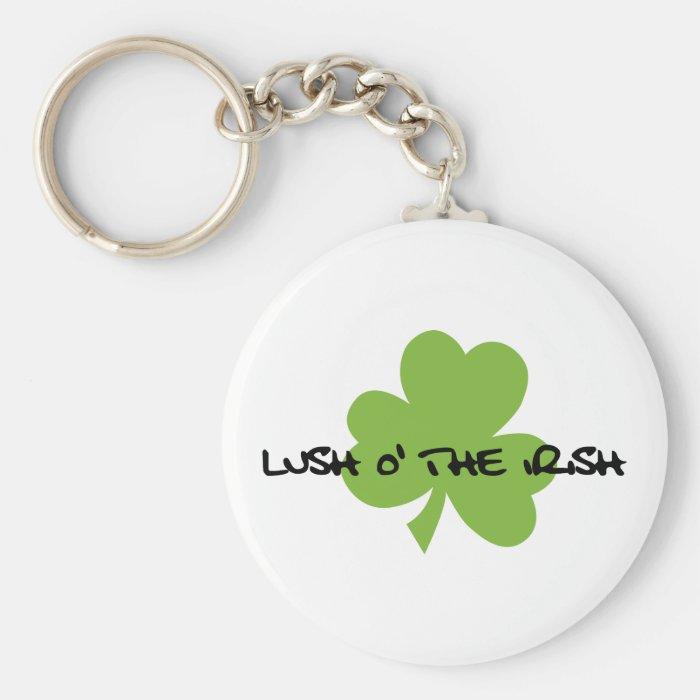 Lush O' The Irish Keychain