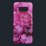 "Lush Pink Peony Flowers Floral Pattern Case-Mate Samsung Galaxy S8 Case<br><div class=""desc"">Add some sparkle motion to your Samsung with this vibrant pink peony floral print. Sparkle Motion creates beautiful seamless patterned products for phones,  tablets,  home decor,  and wearables.</div>"