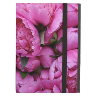 Lush Pink Peony Flowers iPad Air Covers