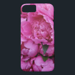 "Lush Pink Peony Flowers iPhone 8/7 Case<br><div class=""desc"">Add some sparkle motion to your life with this pink peony print iPhone 6 case!</div>"
