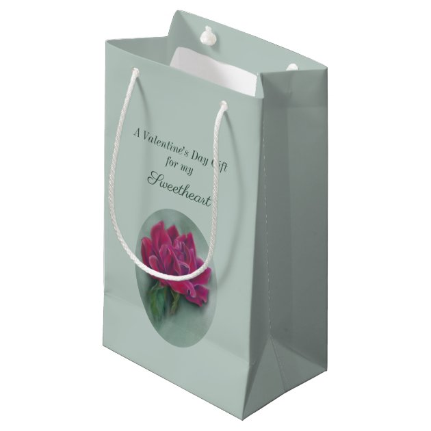 Red Roses Small Gift Bag Gift Bags Gift