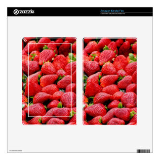 Lush Ripe Strawberries Skins For Kindle Fire