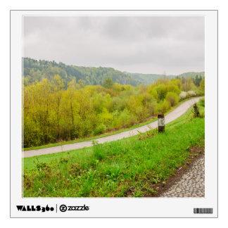 Lush Spring Landscape, Hills In Ojcow, Poland Wall Sticker