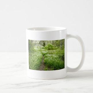 Lush trail Santa Cruz California Coffee Mug