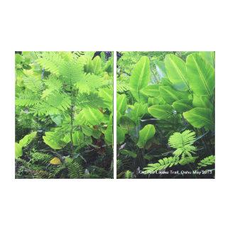 Lush Windward Jungle Canvas Print