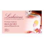 Lushcious Cake Business Cards
