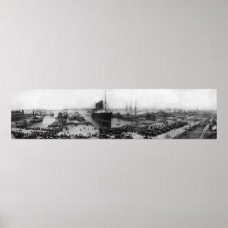 Lusitania 1905 poster