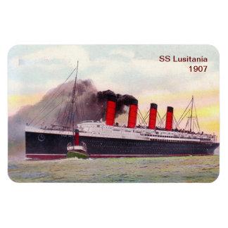 Lusitania 1907 de los SS Imán