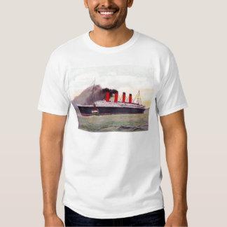 Lusitania 1907 del RMS Camisas