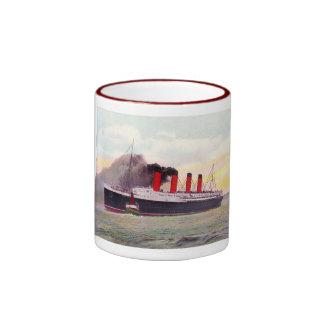 Lusitania 1907 taza de café
