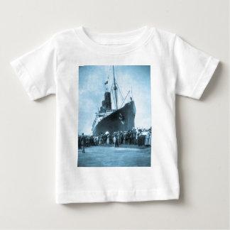 Lusitania Arrives in New York Vintage Shirt