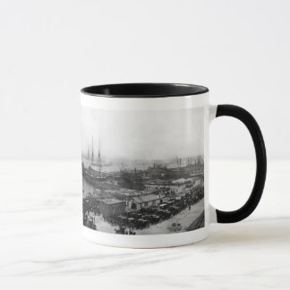Lusitania Arrives Mug