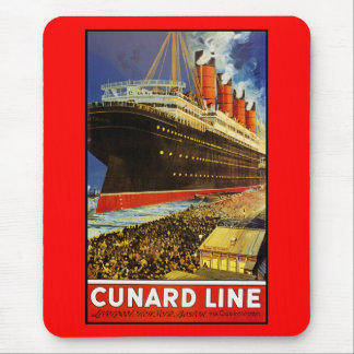 Lusitania Departing Mouse Pad