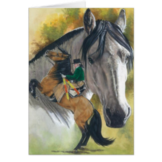 Lusitano Stationery Note Card