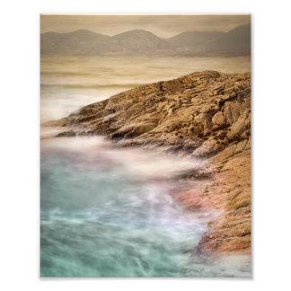 Luskentyre Beach Outer Hebrides Photo Print