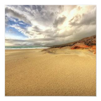 """Luskentyre, isla de Harris Invitación 5.25"""" X 5.25"""""""