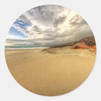 Luskentyre, Isle of Harris Classic Round Sticker