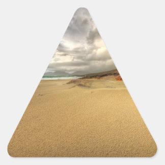 Luskentyre, Isle of Harris Triangle Sticker