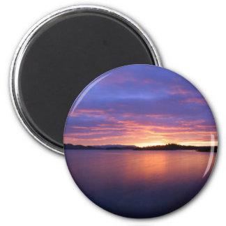 Luss Sunrise Pink Magnet