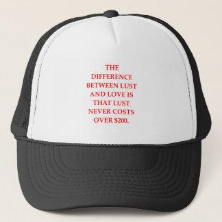 LUST TRUCKER HAT