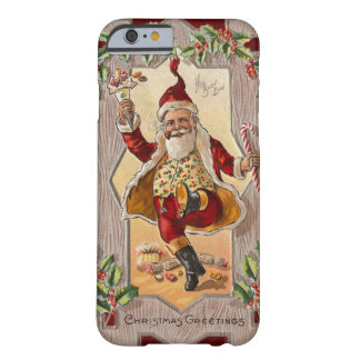 Lustiges tanzendes lustiges Vintages Weihnachten S Barely There iPhone 6 Case
