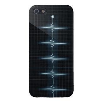 Lustre de la comprensión del caso del iPhone 5 del iPhone 5 Carcasas