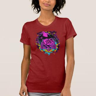 Lusty Bird And Skull T-Shirt