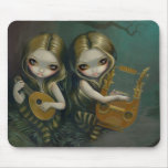 Lute and Lyre gothic fairy Mousepad