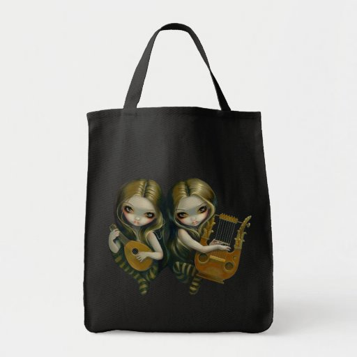 Lute And Lyre music nymphs Bag