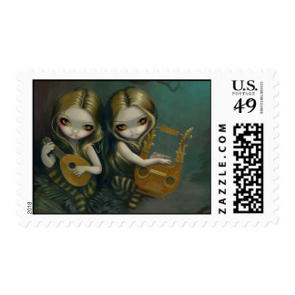 """""""Lute and Lyre"""" Stamp"""