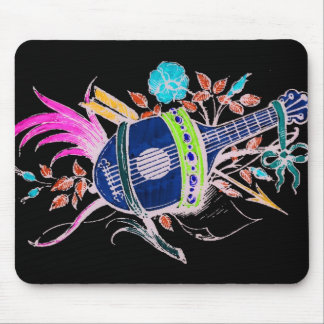 Lute and Plants inversion II Mouse Pad