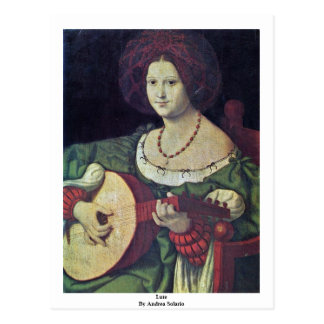 Lute By Andrea Solario Post Cards