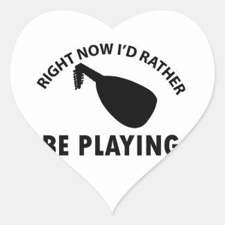lute designs heart sticker