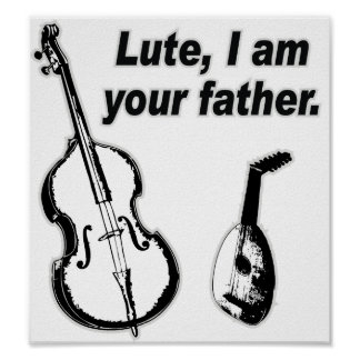 Lute Father Poster