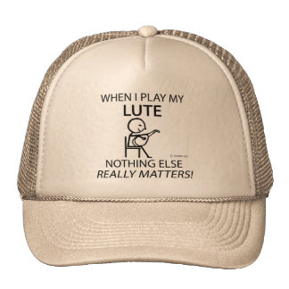 Lute Nothing Else Matters Hat