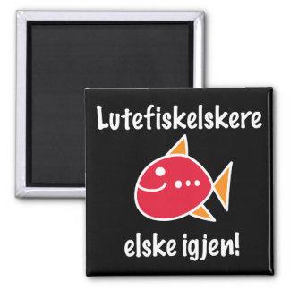 Lutefisk Lovers Last Longer Magnet