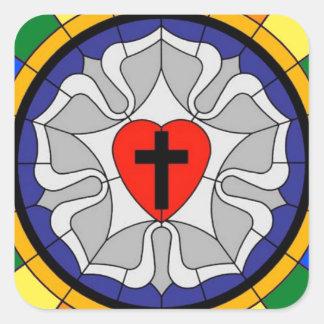 Luterana inclusion square sticker